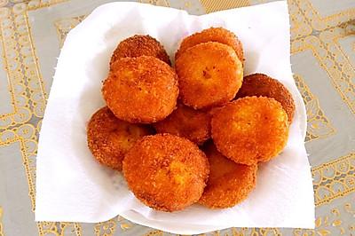 香甜红薯糯米饼(不加糖)
