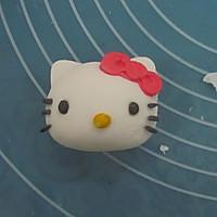 HOLLETKITY粉色双层翻糖蛋糕#九阳烘焙剧场#的做法图解31