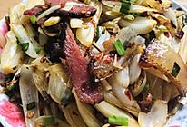 家常菜&藠头炒腊肉的做法
