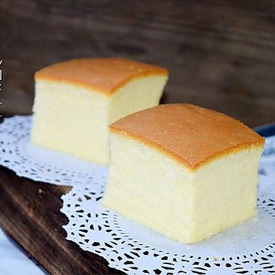 臺灣古早味蛋糕(燙面水浴法)