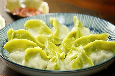 翡翠白菜饺子【微体兔菜谱】