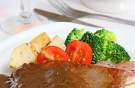 法式黑椒牛排的做法