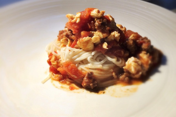 中式肉酱面的做法