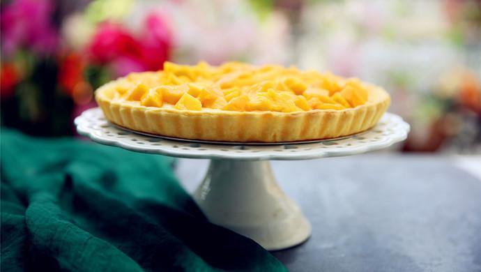缤纷夏日不可错过的冰爽甜品芒果挞#有颜值的实力派#