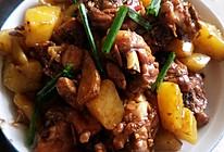 土豆焖鸡腿肉