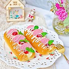 #美食视频挑战赛#樱花奥利奥奶酪魔法棒奈雪同款