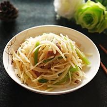 土豆丝炒芹菜#快手又营养,我家的冬日必备菜品#