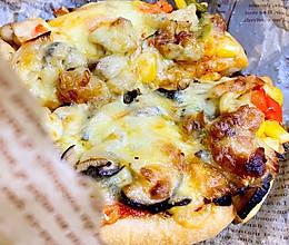 自己做鸡肉多多披萨吧!
