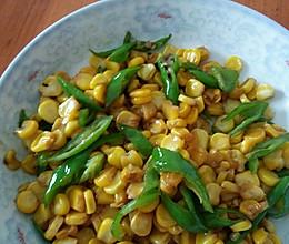 炒玉米的做法