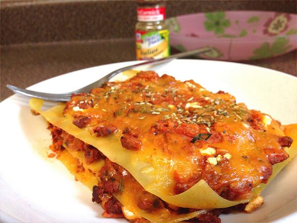 意式经典——蘑菇肉酱千层面 Lasagna的做法