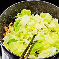 #助力高考营养餐#圆白菜炒肥牛卷的做法图解8