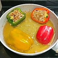 饱满多汁的青椒盅的做法图解9