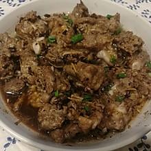 豉汁蒸排骨(自制蒜蓉豆豉酱)