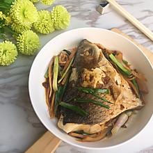 #精品菜谱挑战赛#头菜炆鲩鱼
