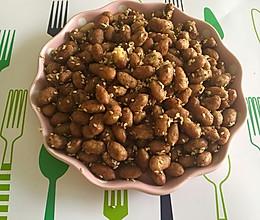 怪味花生豆的做法