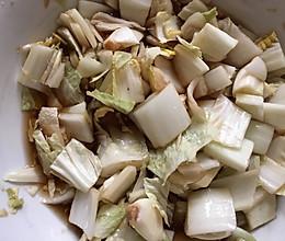 简易腌白菜  减肥美食的做法