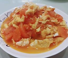 #憋在家里吃什么#西红柿炒蛋的做法