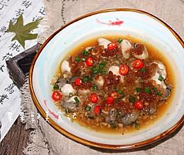 #童年不同样,美食有花样#蒜蓉蒸牡蛎的做法