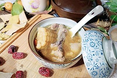 玉米煲老鸭汤