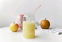 苹果雪梨汁(美白润肤)的做法