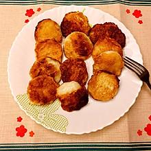 香煎墨鱼饼