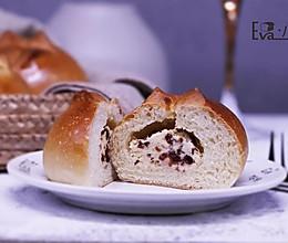 蔓越莓奶酪小面包的做法