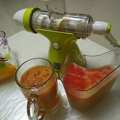 混合原汁果汁