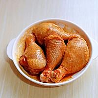 奥尔良面包糠烤鸡腿的做法图解7