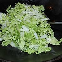 【大喜大牛肉粉试用报告之一】大白菜肉丝炒河粉的做法图解6
