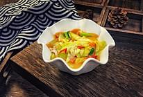 #花10分钟,做一道菜!#清炒丝瓜肉片的做法
