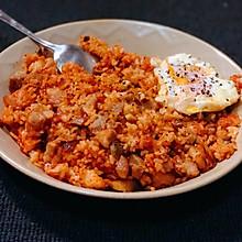 超好吃的快手泡菜香菇五花肉炒饭 保姆级