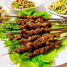 #肉食者联盟#烤羊肉串