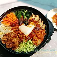 #换着花样吃早餐#肥牛石锅拌饭