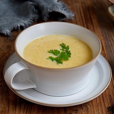 味增玉米浓汤(微波炉版)