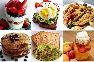 三分钟早餐(欧美最流行的健康早餐10款)