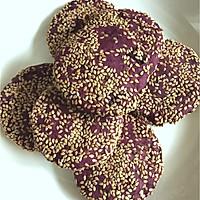 紫薯麻薯饼的做法图解6