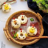 巧做小鸡米饭团的做法图解7