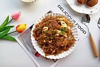 #父亲节,给老爸做道菜#鹅蛋炒粉皮的做法