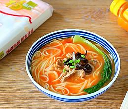 #福临门鲜爽见面#酸汤羊肉汤面的做法