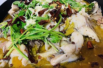 蒜香水煮酸菜鱼