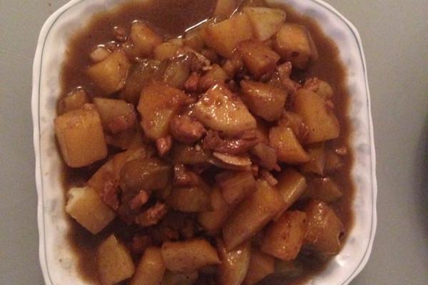 土豆茄子的做法