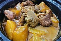 萝卜炖羊肉的做法