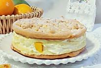 芒果蜜橘泡芙蛋糕的做法
