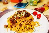 自己也能做出西餐店里的番茄肉酱意大利面的做法