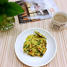 米饭蔬菜鸡蛋饼