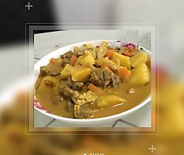 泰国菜咖喱牛腩的做法