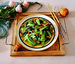 #全电厨王料理挑战赛热力开战!#香菇炒青菜的做法