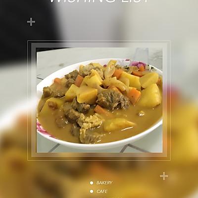 泰国菜咖喱牛腩