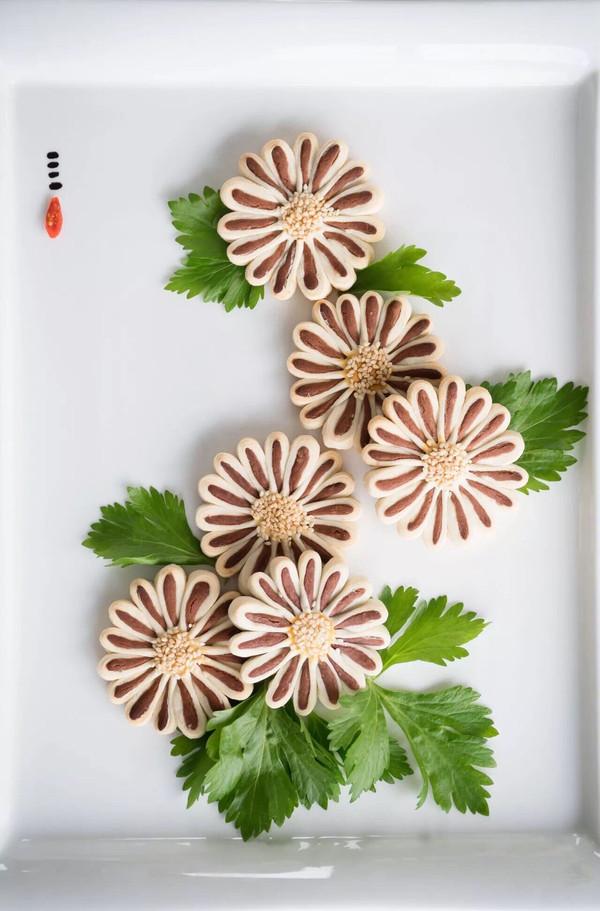 【中式糕点】菊花酥饼~的做法