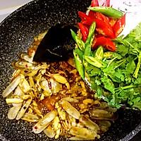 鲜味辣炒蛏子-下酒菜#单挑夏天#的做法图解14